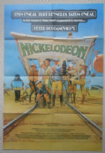 Nickelodeon, Movie Poster, Tatum O'Neal, Ryan O'Neal, Burt Reynolds, '76